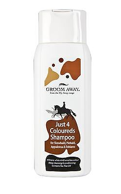 Groom Away Just 4 Coloureds Shampoo Equine Horse Shampoos & Conditioners