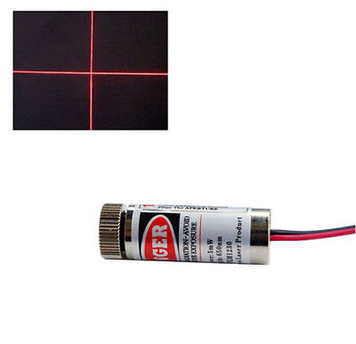Diode Laser croix rouge 5mW 650nm 3-5V - Red cross