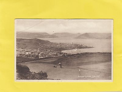GOUROCK  from  LYLE  HILL  , GRASS CUTTER     , Renfrew , SCOTLAND ( C86  )