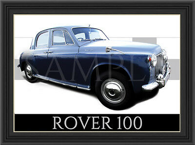 Rover 100 Car  Poster  Print  Picture  Art New