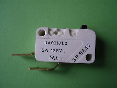 Ua83161.2 Microswitch Push Button Crouzet Sp 9647  5A 125Vl  2 Terminal