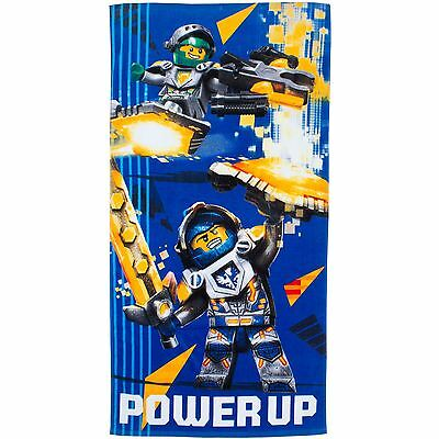 Lego Nexo Knights Power Beach Bath Towel New