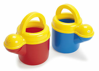DANTOY ROBUST KIDS CHILDRENS WATERING CAN round blue red play watering can