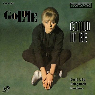 """GOLDIE 'Could It Be' New 7"""" EP Gingerbreads 60s mod blue eyed soul Northern Soul"""