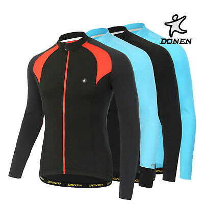 Donen Winter Breathable Cycling Fleece Thermal Warm Jacket Windproof Bike Riding