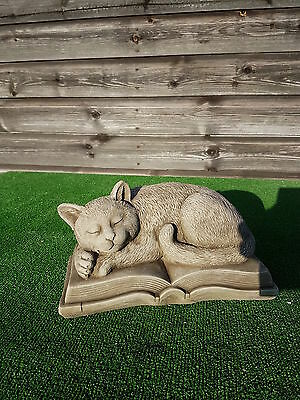concrete cat memorial,pet memorial,grave ornament,price includes delivery