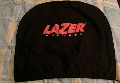 Lazer Helmets Black Drawstring Motorcycle / Scooter Helmet Bag