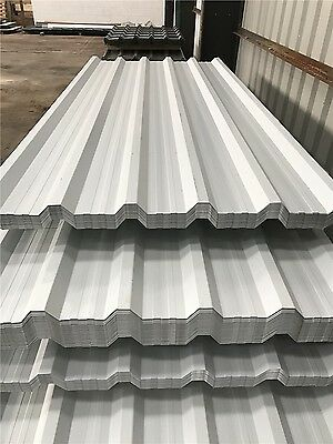 Galvanised Box Profile Wall Sheets And Roof Cladding   ** Uk Manufactured**
