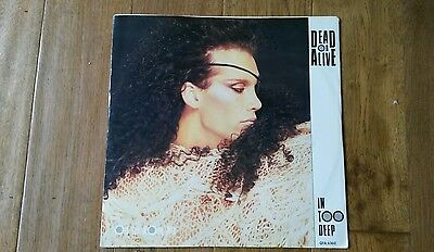 "Dead or Alive Extremely Rare 12"" In Too Deep Alternative Cover"