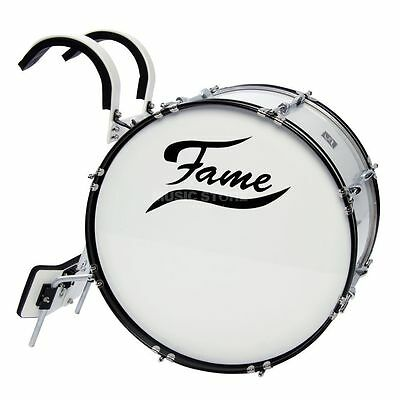 "Fame Fame - Marching BassDrum 22""x12"", inkl. Tragegestell"