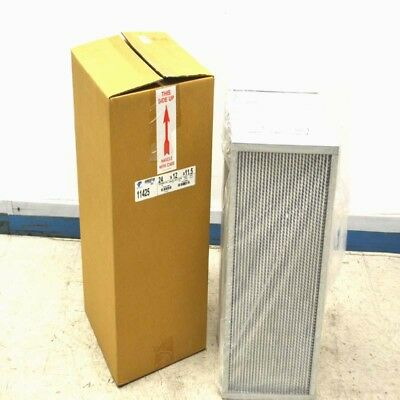 "NEW Aerostar 11425 Efficiency 95% HEPA Air Filter Unit 24"" x 12"" x 11.5"""