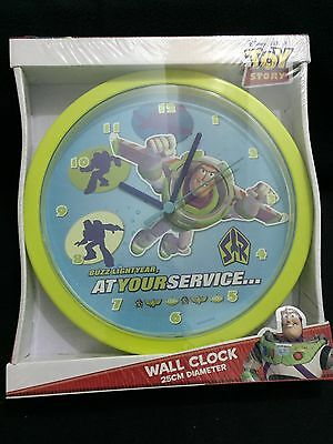 New! Disney Toy Story Round Clock