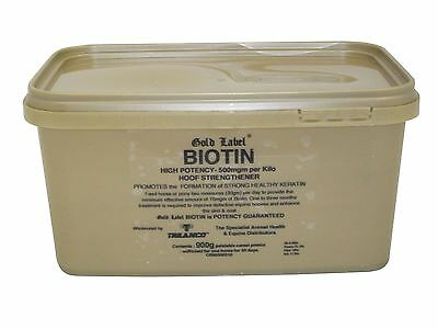 Gold Label Biotin Equine Horse Hooves & Skin