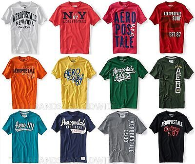 Aeropostale Mens T-Shirt Lot Of 25 You Choose Sizes Nwt Wholesale Resale Shirts