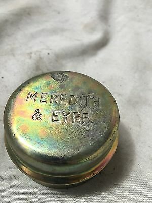 1x MEREDITH & EYRE TRAILER BEARING GREASE HUB CAP 50mm UNDERCARRIAGE
