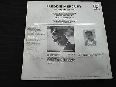 Queen  Freddie Mercury-I Was Born To Love You- Spanish Promotional 7""