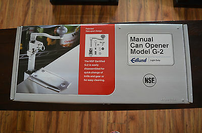Edlund Manual Can Opener G-2 Light Duty