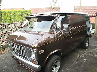 1971 LHD CHEVROLET/CHEVY G10 DAY VAN with 5.7 Litre V8 Engine 70's Pimp Wagon!!!
