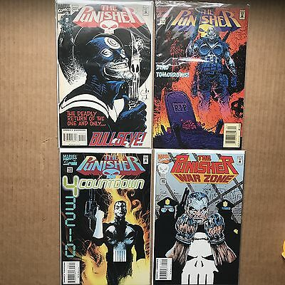 Punisher #102 103 101 NEWSSTAND War Zone 40 VF Lowest Print Run Bullseye