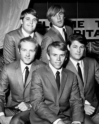 American Rock Pop Band THE BEACH BOYS Glossy 8x10 Photo Musical Print Poster