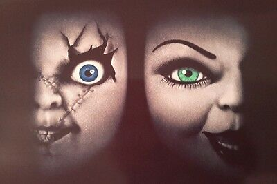 Bride Of Chucky Film Horror A4 Poster Picture Print Art