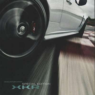 brochure 2010 JAGUAR XKR SPECIAL EDITION !!! With CD