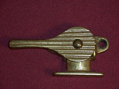 Antique Eastlake Cast Iron Cabinet Window Keeper Catch Latch Sash Lock