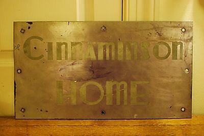 Myrna Loy Cinnaminson Home Celebrity Old Hollywood Art Deco Metal Sign