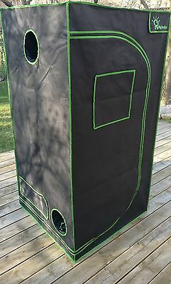 3ft x 3ft x 6ft Grow Tent - Reflective Hydroponic Growing Room - Grow Box - 600D