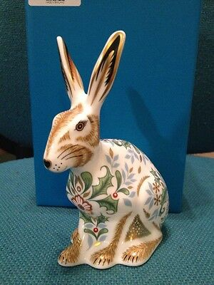 Royal Crown Derby Winter Hare