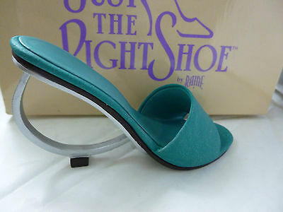 Unused Boxed Just The Right Shoe by Raine Geometrika Shoe Ornament