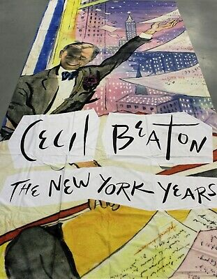 """Amazing Cecil Beaton's New York Museum of The City of New York 5th Ave Banner"""