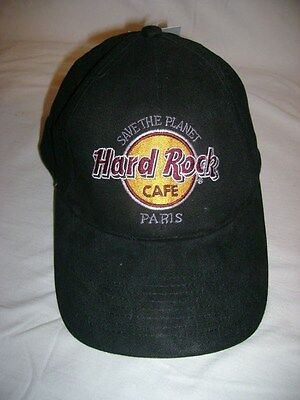 hard rock cafe paris hat, black, NWT