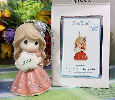 Precious Moments May YOur Holiday Sparkle 2014 ornament
