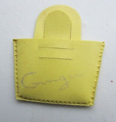 "Vintage Cosmopolitan Ginger Doll Purse Yellow Original 1950's HTF 8"" Dolls"