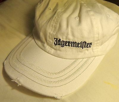 Jagermeister...Baseball style hat...Worn Look - Off-White...NEW