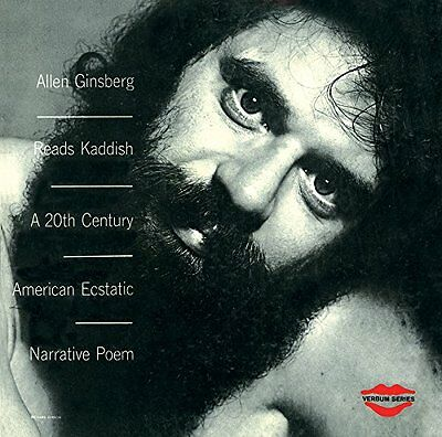 Allen Ginsberg: Reads Kaddish  (Limited Red Vinyl Edition) LP Beat Poet