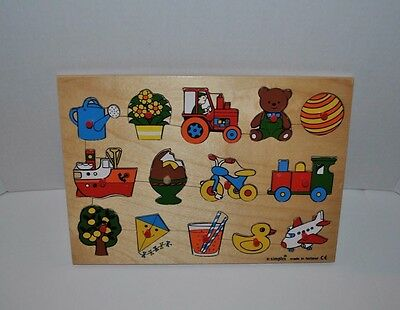 Vintage Simplex Wooden Puzzle Made in Holland