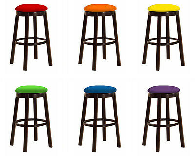 Remarkable Espresso Wood And Metal Bar Stool In 24 28 With Colorful Gmtry Best Dining Table And Chair Ideas Images Gmtryco