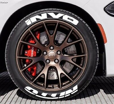 Tire Stickers Nitto Invo 1 0 For 17 18 Wheels 8 Decals