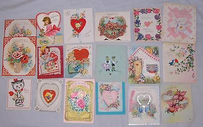Mixed Lot 87 Vtg Valentines - Holiday Greeting Cards - Free Priority Shipping