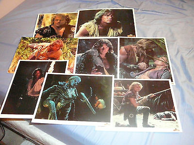 Clearance Sale! Lot Of 8 Hercules Photos Iolaus (Xena)
