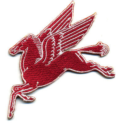 Mobil Pegasus patch badge gasoline motor oil service station hot rod Right