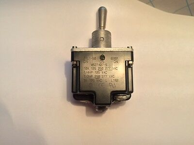 Honeywell  2Tl1-50  Switch, Toggle, Dpdt, 10A, 277V