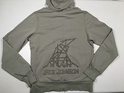 "Vtg 2010 Jack Johnson ""To the Sea"" Tour Sweatshirt Gray Hoodie Rare Women's XL"