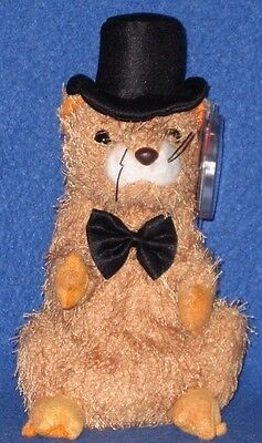 dc99ff417be Ty Punxsutawney Phil 2004 Groundhog Beanie Baby - Mint Tags - Coc Pa  Exclusive