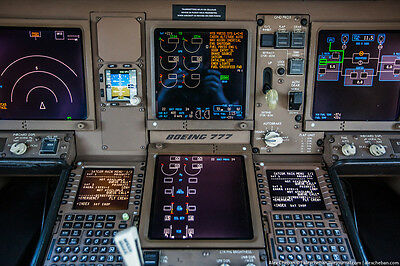 MCDU Boeing 777 WORK Condition Aircraft Control Display Onboard Computer