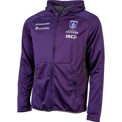 Fremantle Dockers AFL 2016 ISC Players Purple Workout Hoody Sizes S-5XL! BNWT's!