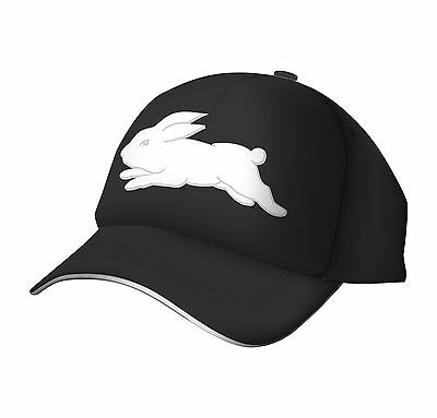 South Sydney Rabbitohs NRL Players Black ISC Cap! BNWT's! 6