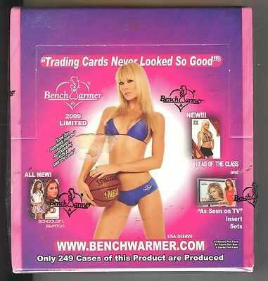 2009 Bench Warmer Limited Sealed Box - 24 Packs - 5 Cards Per Pack